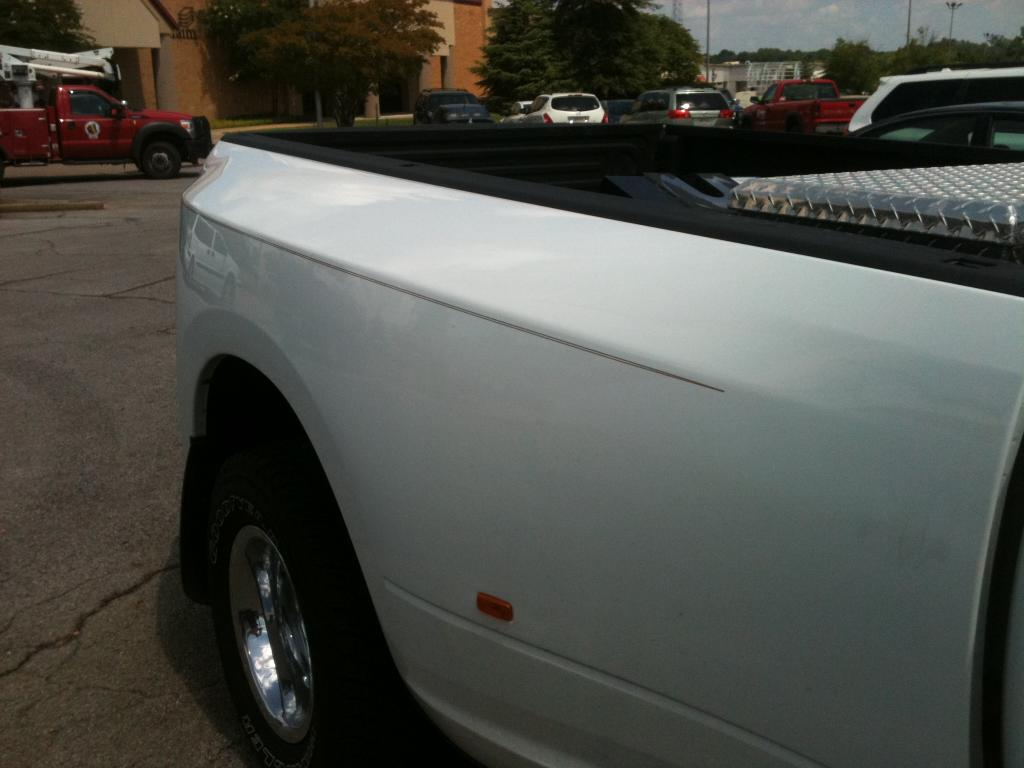 Do You Have A Pin Stripe On Your 4th Gen Dually Dodge